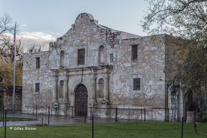The Alamo, San Antonio, Texas, March 18, 2015, Canon 6D 24-105mm, 1/125,F8.0,ISO 200