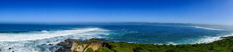 Panorama of Tomales Point