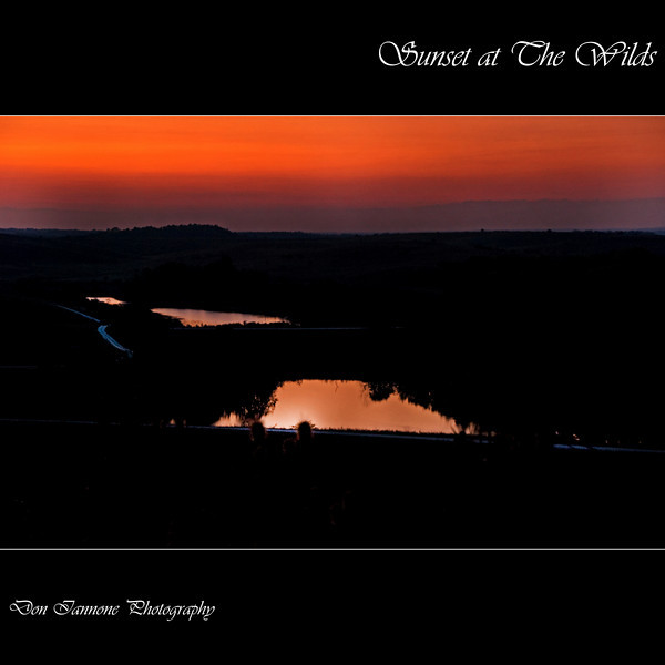 """Sunset at The Wilds:  <a href=""""http://www.thewilds.org"""">http://www.thewilds.org</a>"""