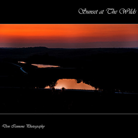 "Sunset at The Wilds:  <a href=""http://www.thewilds.org"">http://www.thewilds.org</a>"