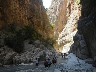 Exploring Salikent Canyon
