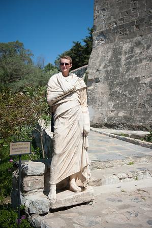 Roman Governor Tyberius … at Bodrum Castle