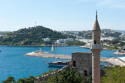 Entrance to Bodrum harbor