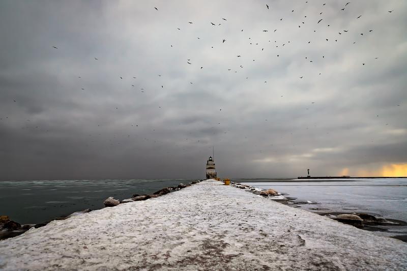 Icy Pier
