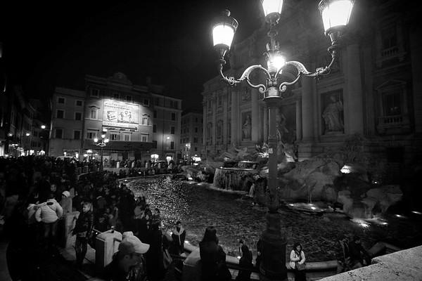 Trevi by Night