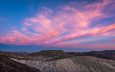 Pink Sunset, Dante's View, Death Valley National Park
