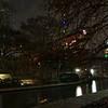 San Antonio texas down on the river walk during Christmas time 2018