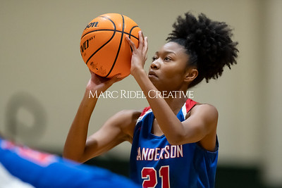Sanderson basketball vs Cardinal Gibbons. Cap-7 Tournament. February 18, 2020. MRC_5141