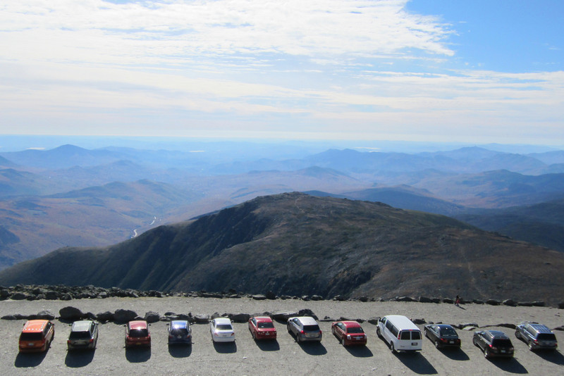 SC 145 View from Mount Washington