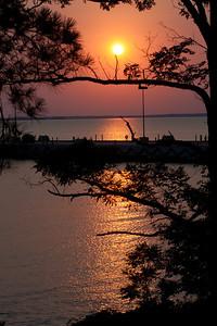 Sunset at Ft Eustis  (1 of 1)