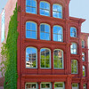 Baltimore  tall red house-