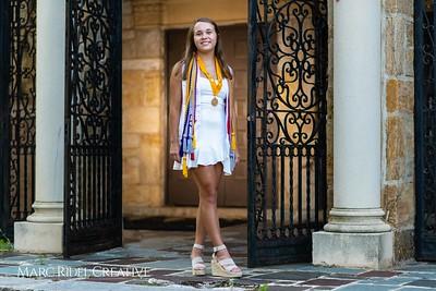 Broughton senior Abigail Pugh cap and gown session. June 4, 2020.