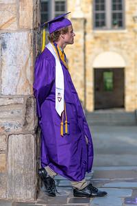 Broughton senior cap and gown session. June 10, 2020.