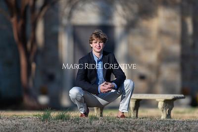 Robert Todd senior portrait session. January 9, 2021