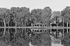 Building Reflections in Water  (Presque Isle, PA)