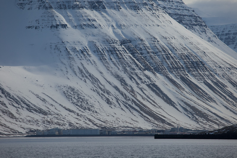 Beautiful mountains along the West coast of Iceland.