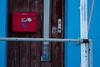 A door in Nanortalik, South Greenland.