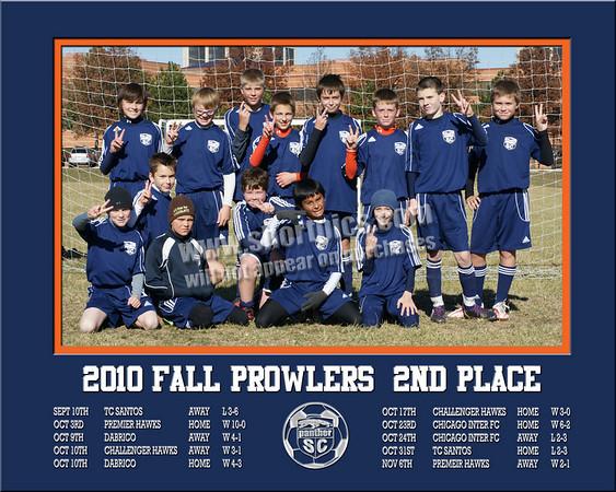 2010 16x20 Prowlers Team