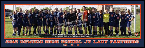 2012 OHS JV Panoramic Team Print