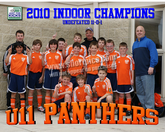 8x10 Prowlers Indoor Team Championship Photo