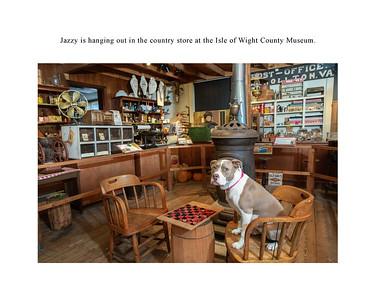 Jazzy Explores Smithfield page 5 IoW museum