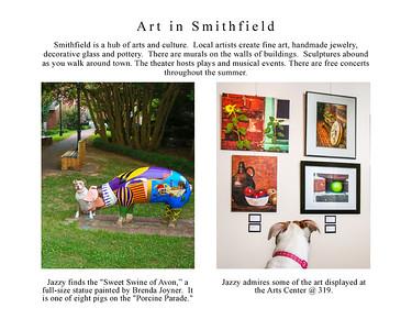 Jazzy Explores Smithfield page 22 Art