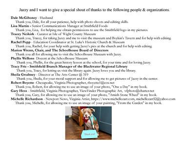 Jazzy Explores Smithfield page 28 Jazzy's Books