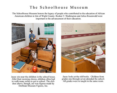 Jazzy Explores Smithfield page 12 School House