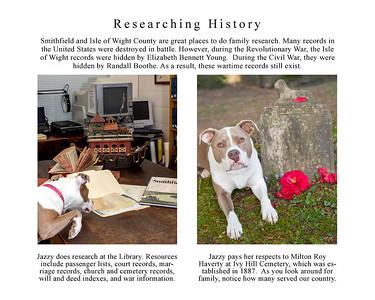 Jazzy Explores Smithfield page 20 cemetery