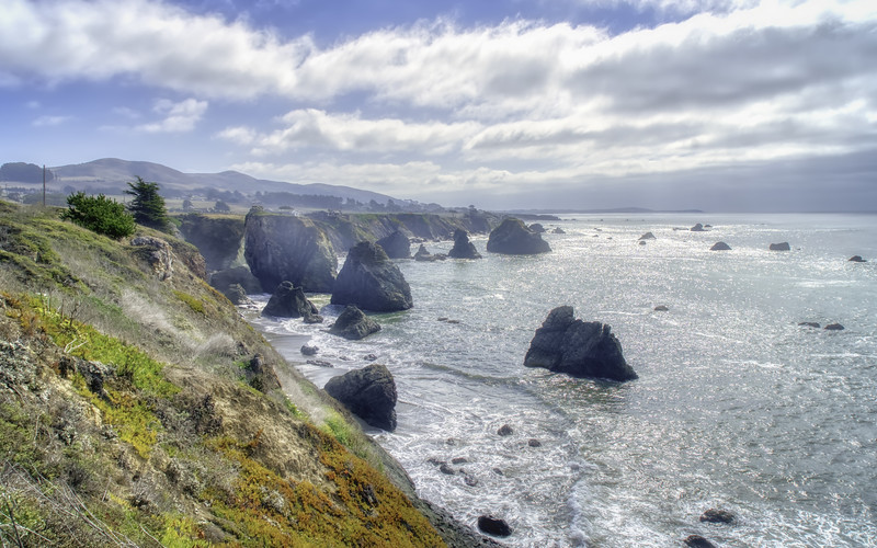 A beautiful fall day along the Sonoma Coast.
