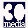3C Media Logo White
