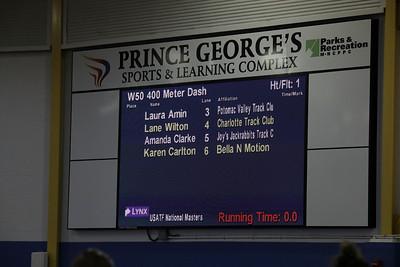 USATF 2018 MASTERS W   400 meter Dash