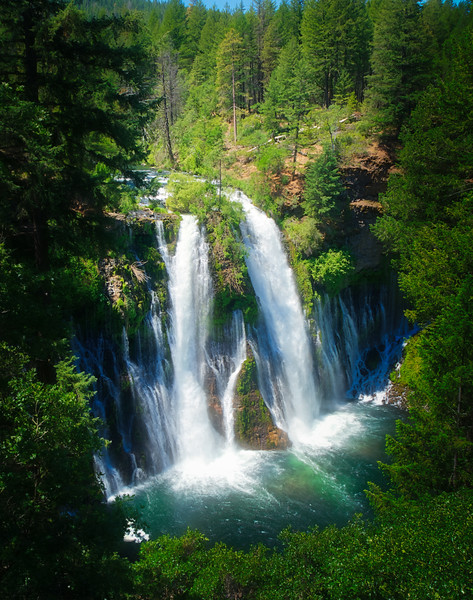 McArthur Burney Falls from the overlook
