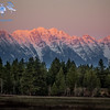 Steeples Mountains at Sunset-4744