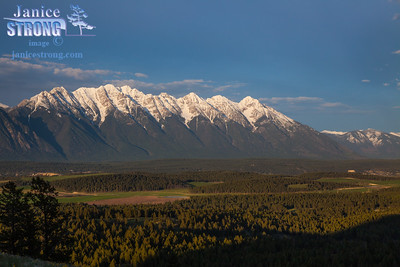0599-The Steeples Mountains in Spring