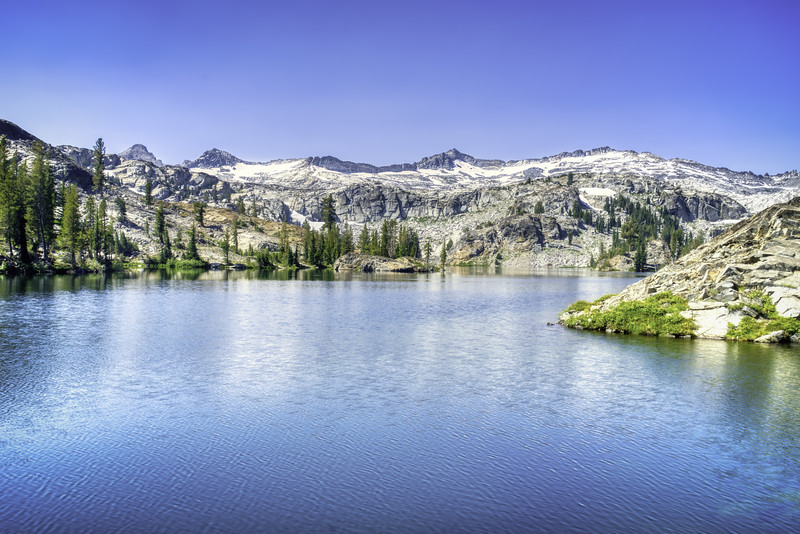 Heather Lake and the Crystal Range
