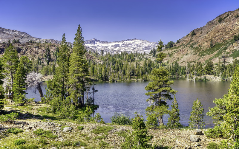 Susie Lake and the Crystal Range