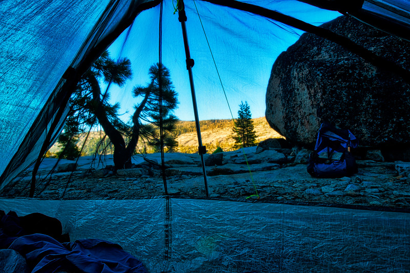 The view from my tent