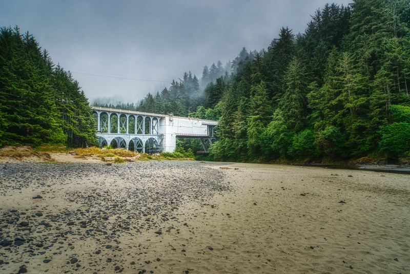 Cape Creek Bridge, OR