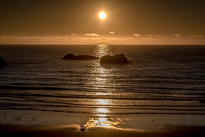 """Bandon Beach Sunset"""
