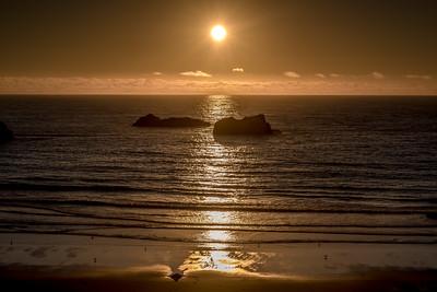 """""""Bandon Beach Sunset"""""""