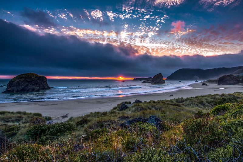 Cape Sebastian Sunset