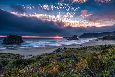 """Cape Sebastian Sunset"""