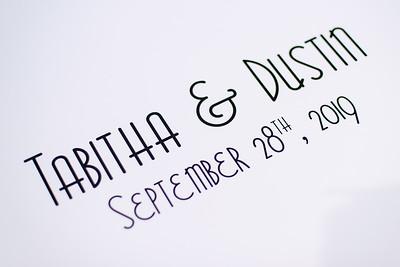 Tabitha and Dustin Wedding. September 28, 2019. D4S_0874