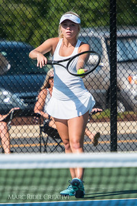 Broughton Tennis vs. Apex. August 21, 2017