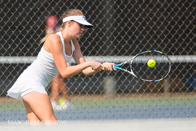 Broughton Tennis vs Sanderson. September 5, 2017.