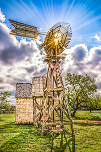 """Sunburst Windmill"""