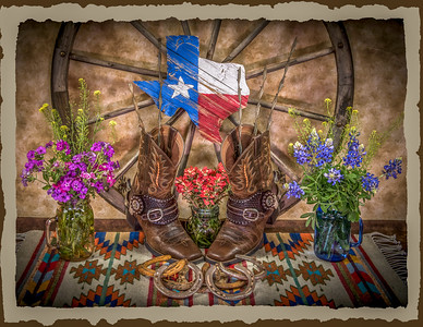 """Texas Wildflower Array"""