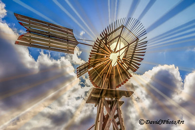 """Sunburst Windmill - Closeup"""