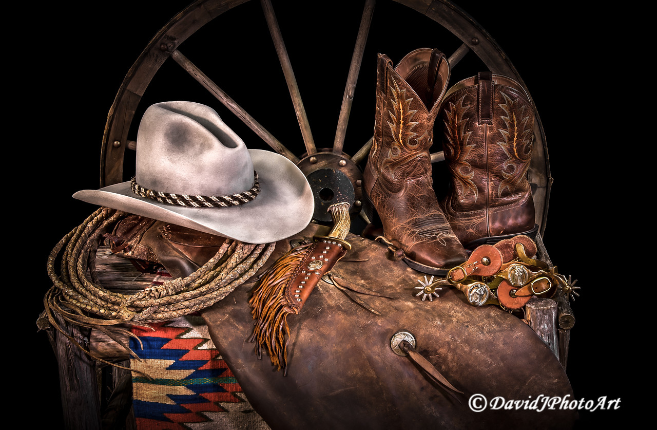 """A Cowboy's Nightstand"""